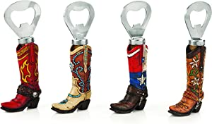 Foster & Rye True Fabrication Cowboy Boot Bottle Openers by Foster and Rye, Multi Color