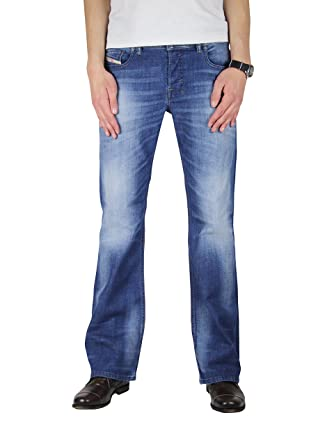 02e0b5fe Diesel Zathan 831D Boot Cut Jeans 26/30 Men Denim/Blue: Amazon.in ...