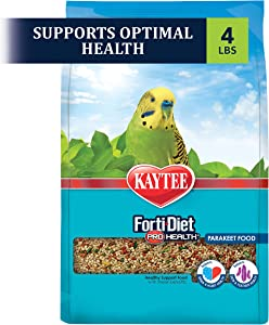 Kaytee Forti-Diet Pro Health Parakeet Food