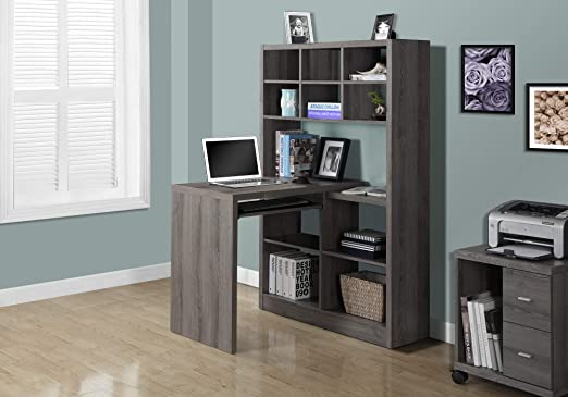 Amazon Com Monarch Specialties I Storage Bookcase Left Or Right