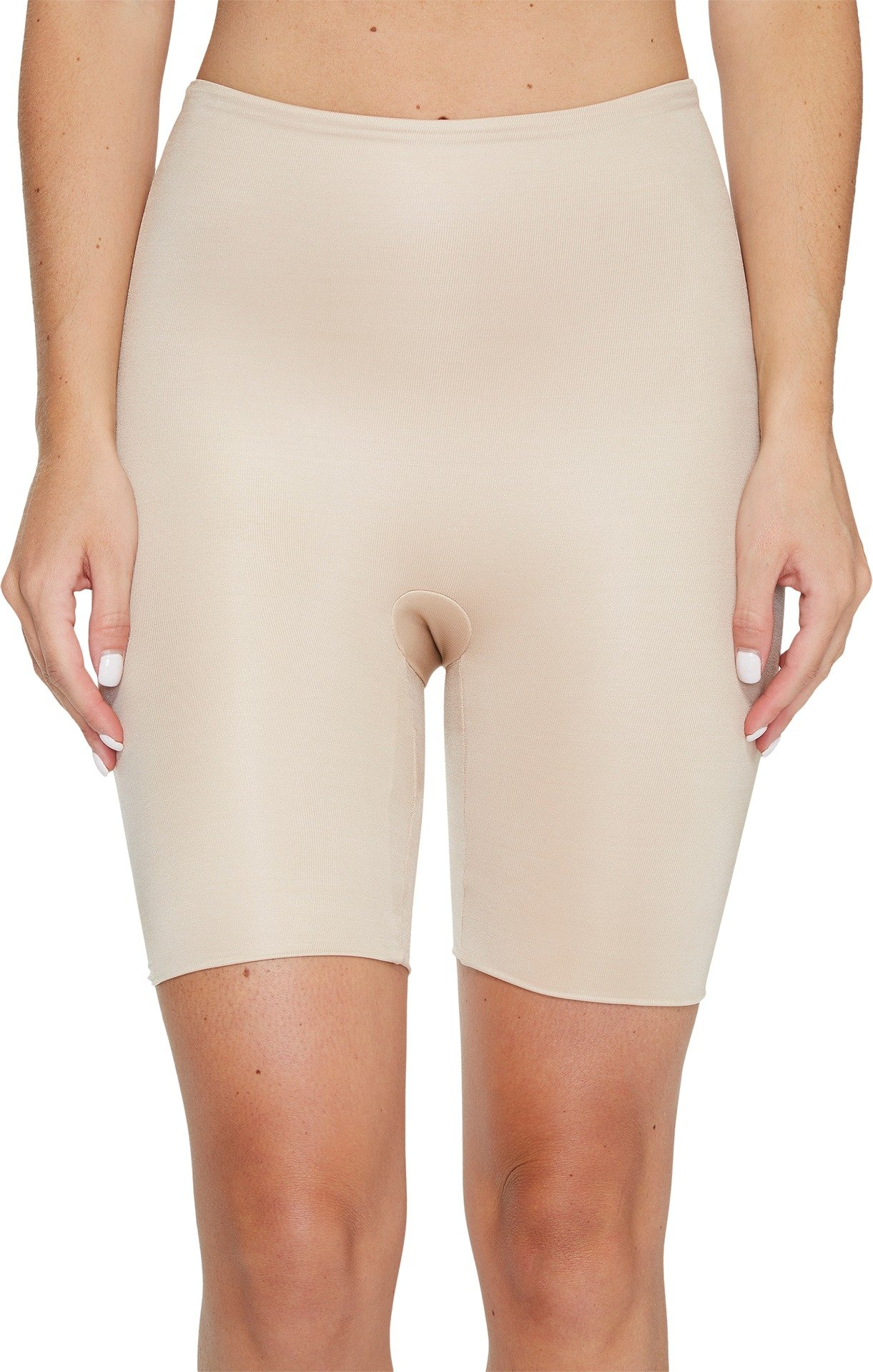 SPANX Women's Power Conceal-Her Mid-Thigh Short Natural Glam Small