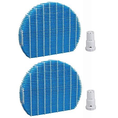 49833acd0d40 ... 空気清浄機用交換部品セット 加湿フィルター FZ-Y80MF & Ag+銀イオンカートリッジ FZ-AG01K1・FZ-AG01K2 互換品  (2セット入り)   J&H   空気清浄機用フィルタ 通販