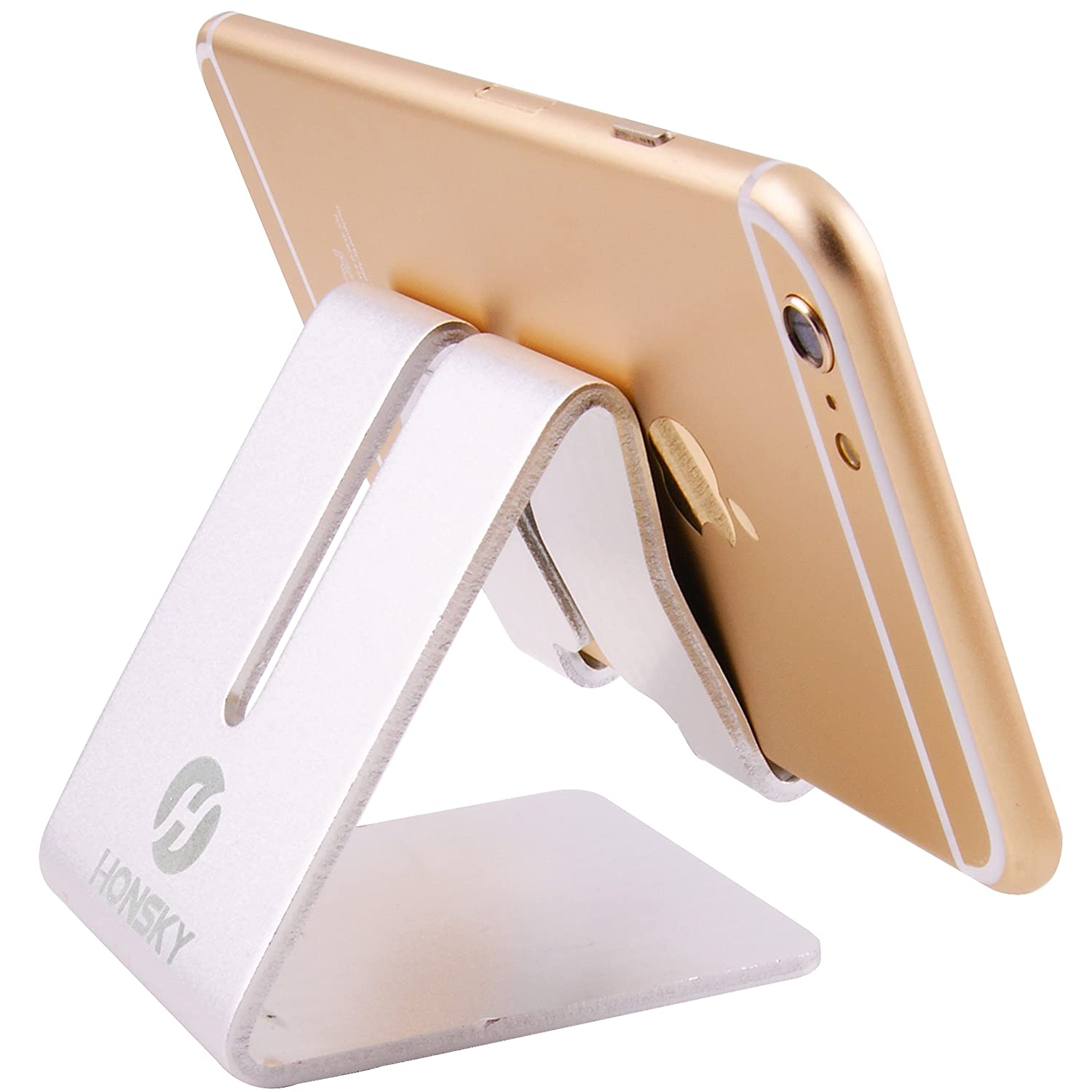 Mobile Phone Accessories Cellphones & Telecommunications Universal Golden Electronics Smart Device Aluminum Alloy Mobile Phone Desk Stand Holder Mount Bracket For Iphone Various Styles