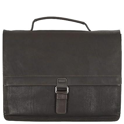 81adf3c597c Harold's Campo M Briefcase dark brown: Amazon.co.uk: Clothing