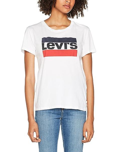 Sin Levi's Perfect Para Camiseta Mujer The Mangas SMpzUV