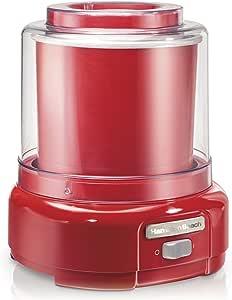 Hamilton Beach Ice Cream Maker, 1.5-Quart, Red (68881Z)