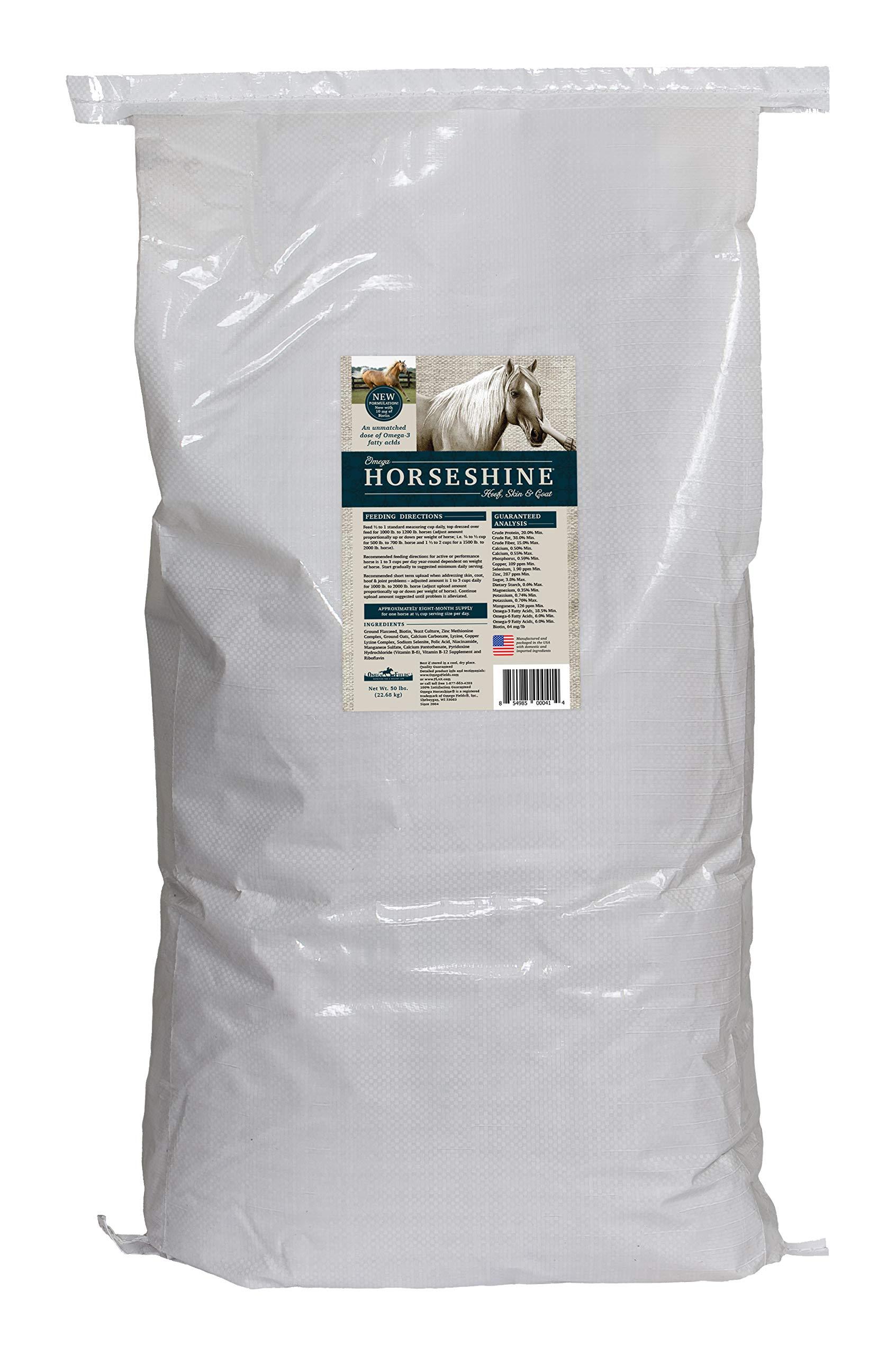 Omega Horseshine 3 Supplement, 50 lb by Omega Horseshine (Image #1)