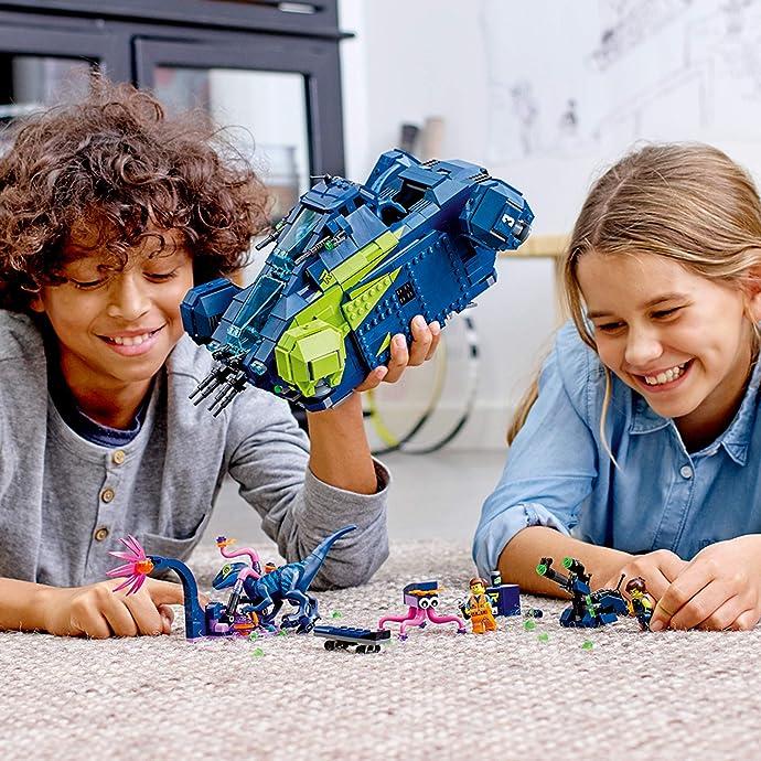 LEGO 乐高 大电影2系列 70835 雷克斯的Rexplorer战斗飞船 积木玩具 6.2折$74.99史低 海淘转运到手约¥653