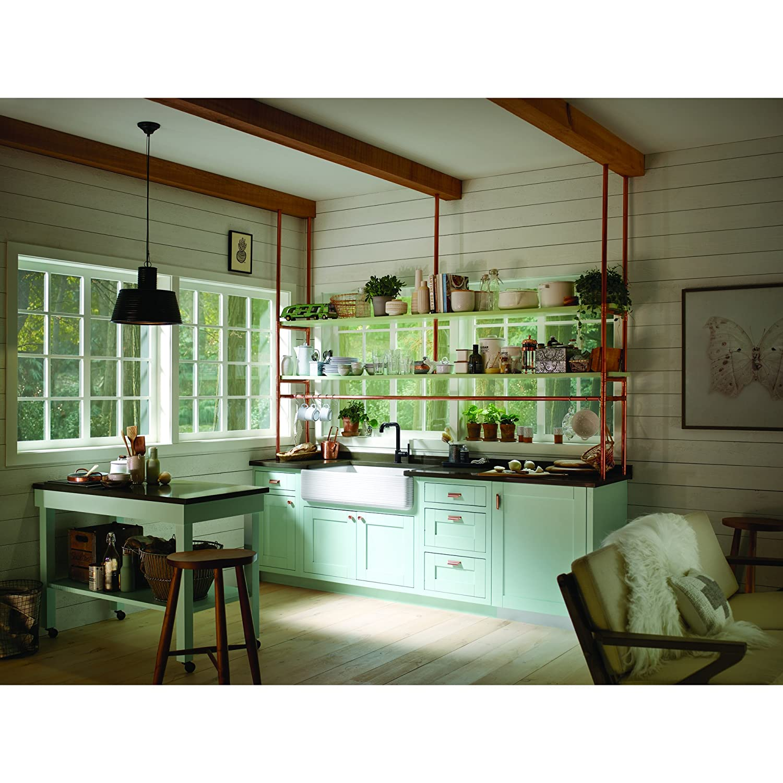 KOHLER K-6351-0 Whitehaven Hayridge Under Mount Single-Bowl Kitchen ...
