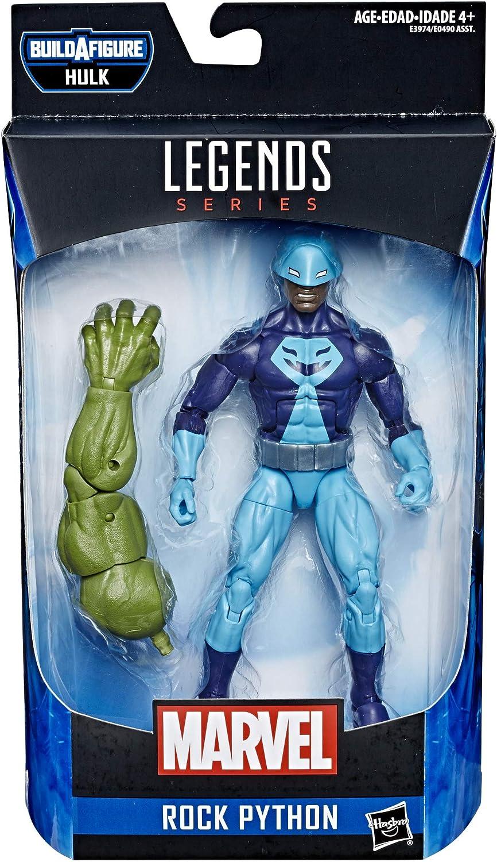 """HASBRO Marvel Legends rock python 6/"""" Action Figure Hulk BAF"""