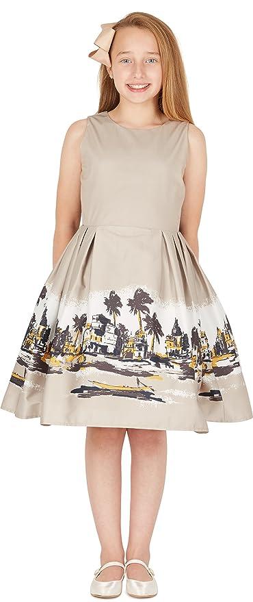 Amazon.com: BlackButterfly Kids Kira Vintage 50s Childrens Girls Dress: Clothing