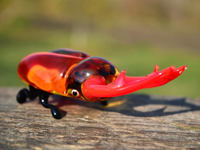 Sculpture Made Of Glass Bug Animals Glass Handmade Blown Glass Figurine Art  Blown Glass Art Glass
