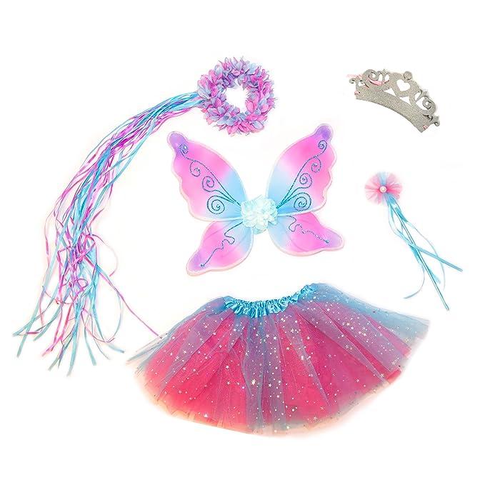 Amazon.com: Set de princesas 5piezas espumosas, rosa ...