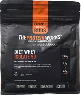 d10d5fb59 The Protein Works Diet Whey Protein Isolate 90 Shake