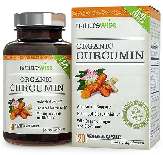 Curcumin Turmeric w/ Ginger and Bioperine Capsules 500mg