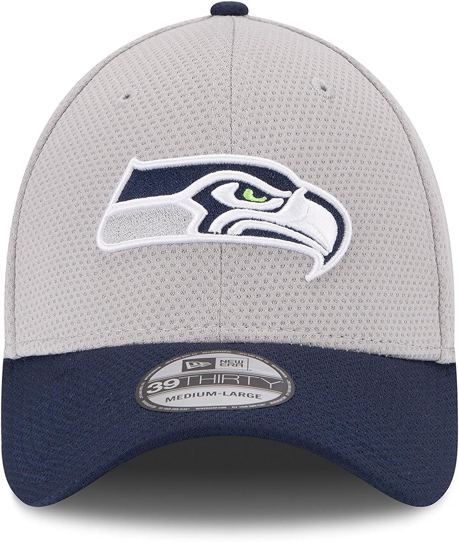 New Era Seattle Seahawks 39THIRTY NFL 2015 Gold On-Field Performance Flex Hat