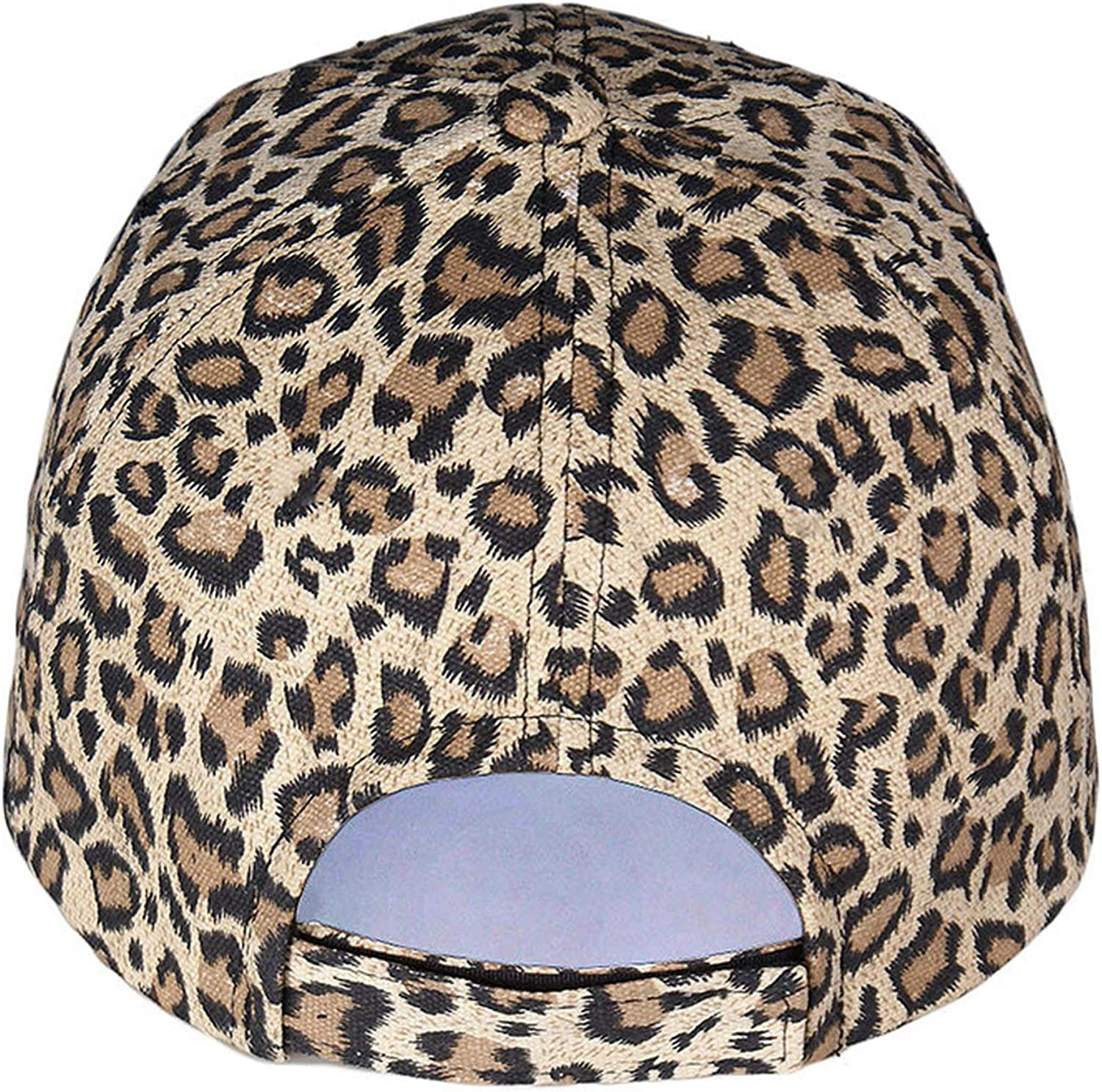 New Womens Baseball Hats Leopard Print Cap Females Outside Visor Sun Cap Fashion Accessories Casquettes