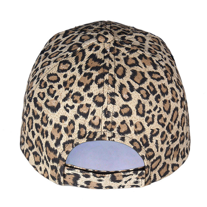 Amazon.com: New Womens Baseball Hats Leopard Print Cap Females Outside Visor Sun Cap Fashion Accessories Casquette Gorras: Clothing