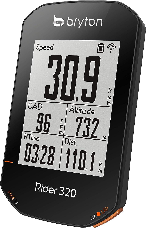 Bryton Rider 320 T Gps Computer Mit Kadenz Und Herzfrequenzsensor Navigation