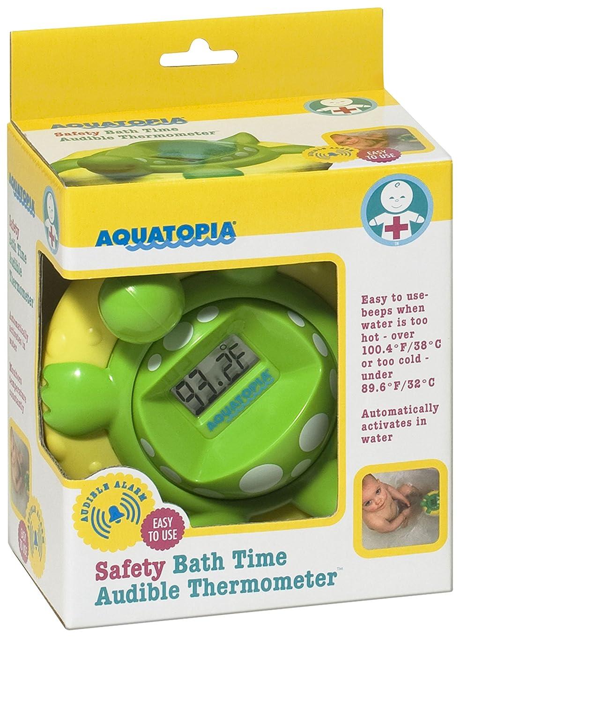 Aquatopia - Safety Bath Time Audible Thermometer by Aquatopia: Amazon.es: Bebé