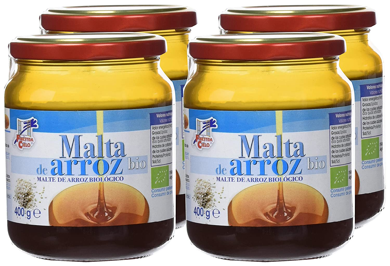Malta de arroz - La Finestra sul Cielo - caja de 4 uds de 400 gr. (Total 1600 gr.): Amazon.es: Alimentación y bebidas