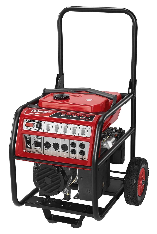 Amazon.com : Milwaukee 4950-20 5000 Watt Vanguard 9 HP 270cc Portable  Generator : Milwaukee Fuel : Garden & Outdoor