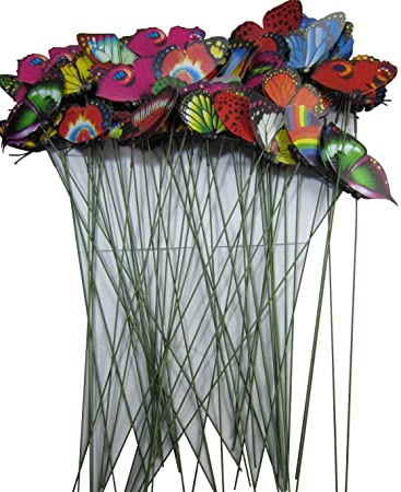 LeBeila Butterfly Garden Ornaments U0026 Patio Décor Butterfly Party Supplies  Butterfly Decorations For Outdoor Garden U0026
