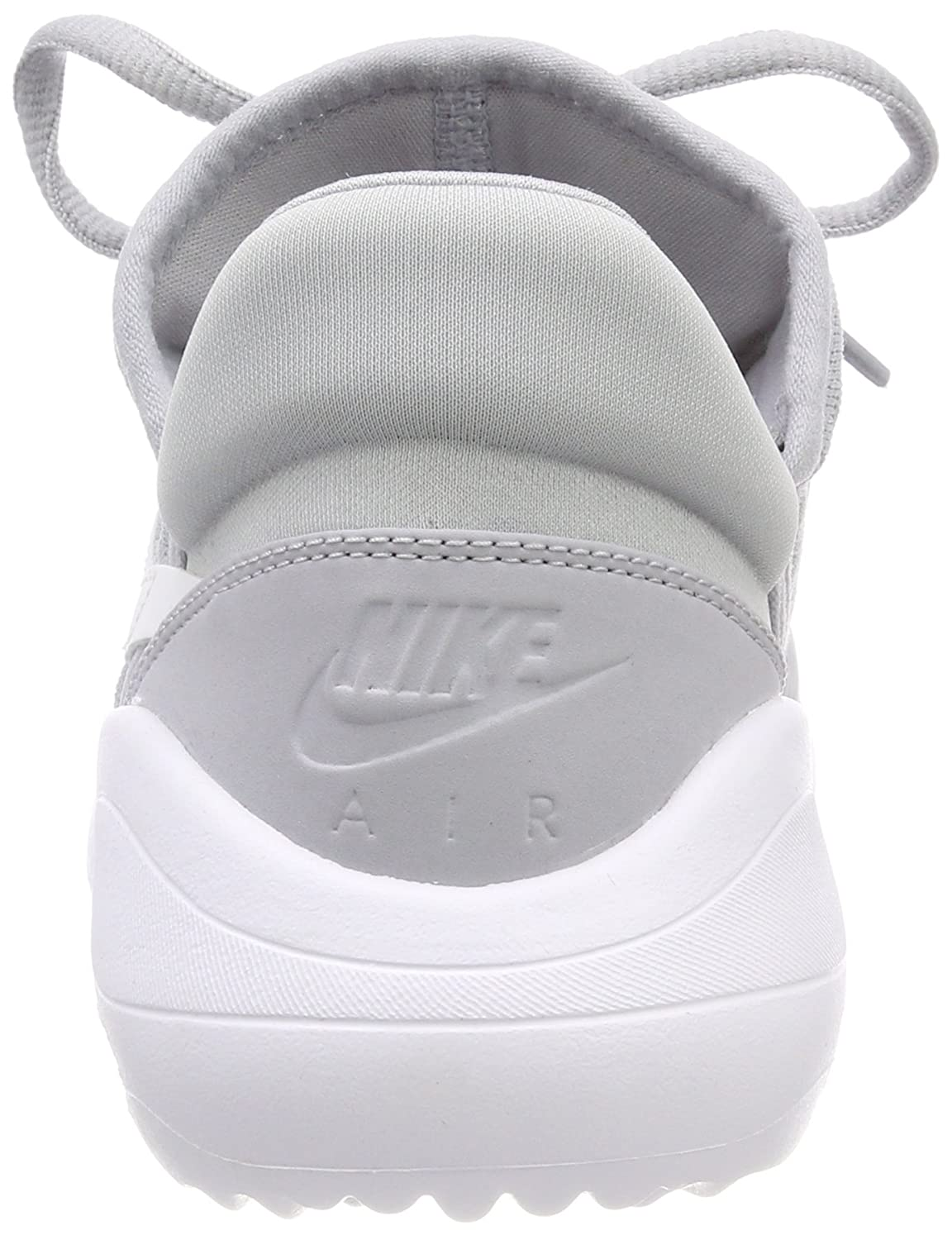 Nike Women's WMNS Air Max Sasha Low Top Sneakers (Wolf GreyWhite 001), 8.5 UK