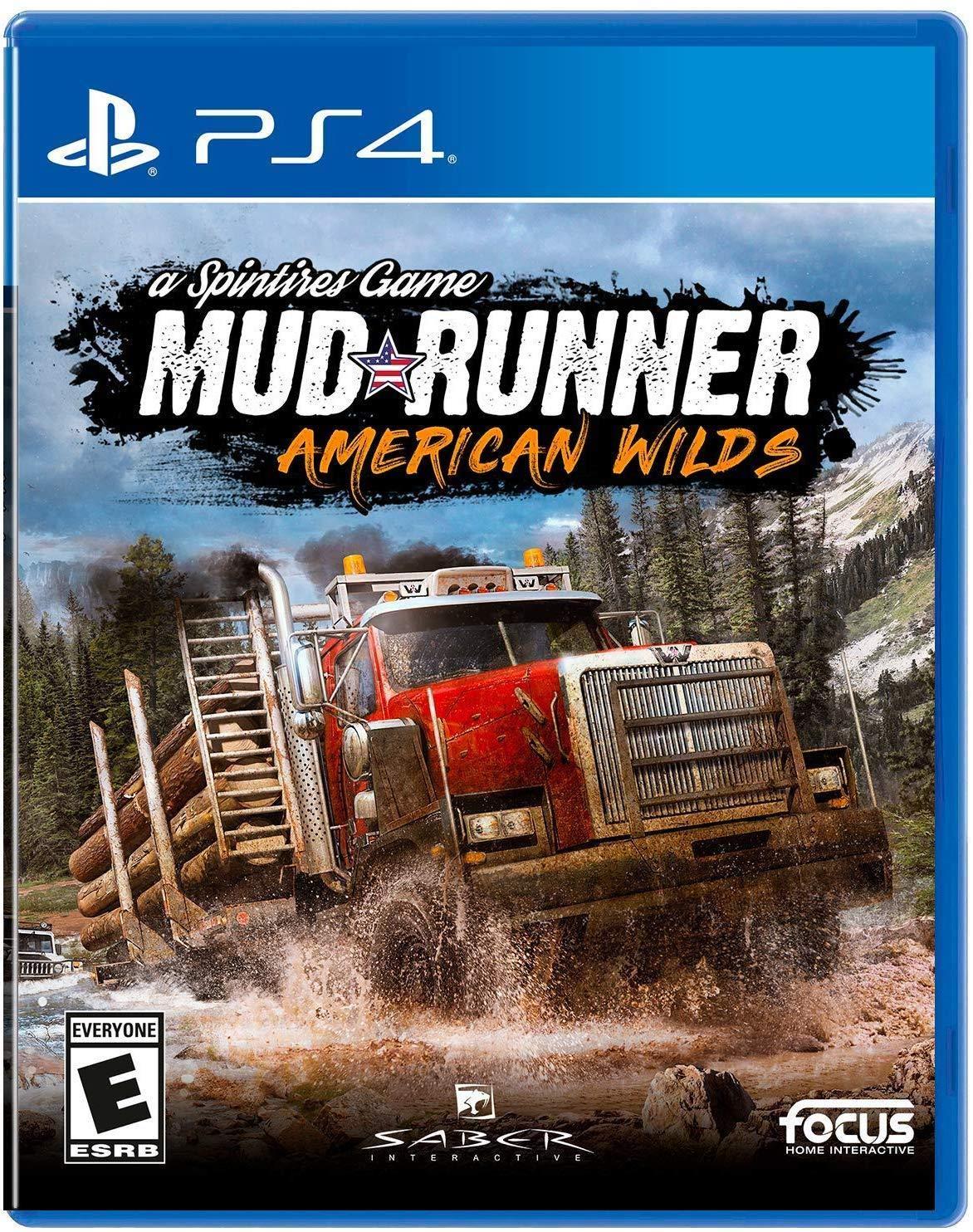 Mudrunner – American Wilds Edition – PlayStation 4