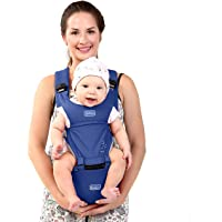 BeeViuc babybärare höftsits klassisk design babybärare ryggsäck i 0-36 månader BLÅ