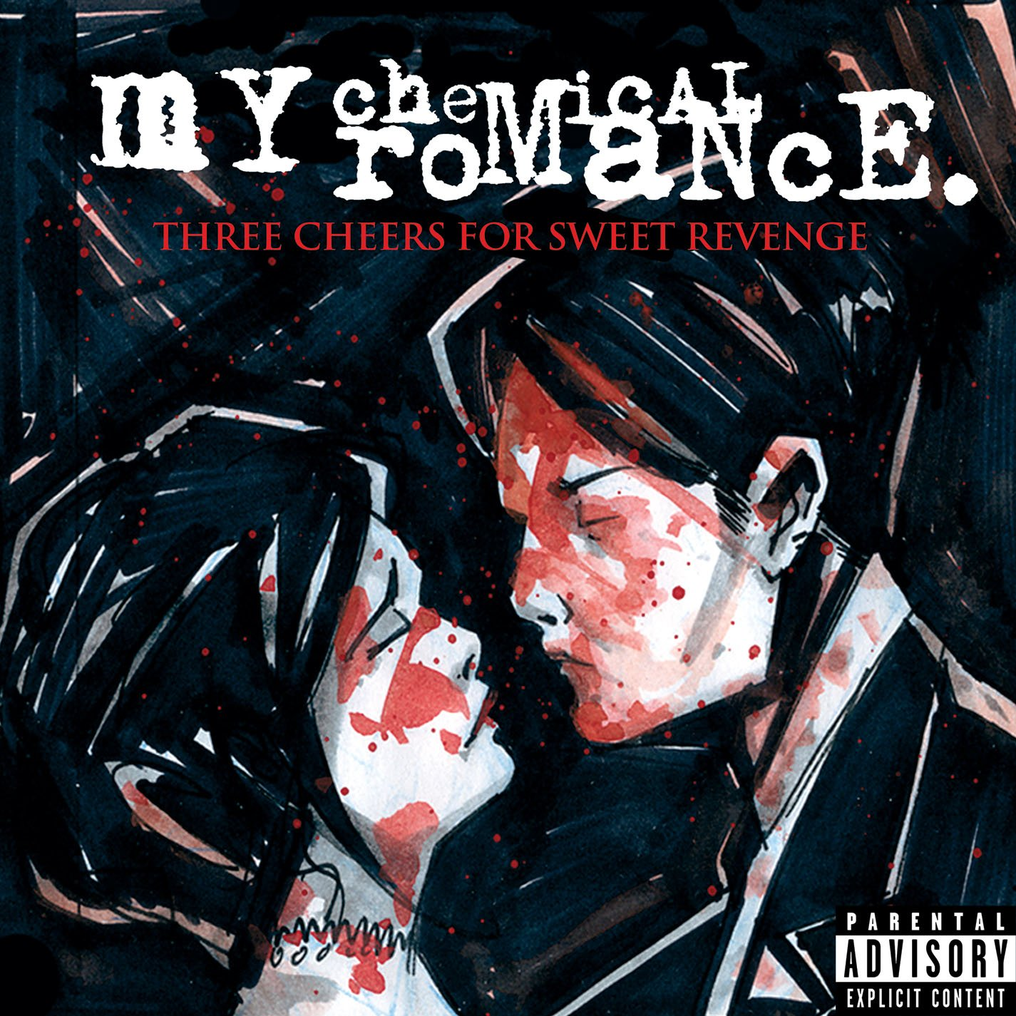 Album Art for Three Cheers for Sweet Revenge [Pink Vinyl] by My Chemical Romance