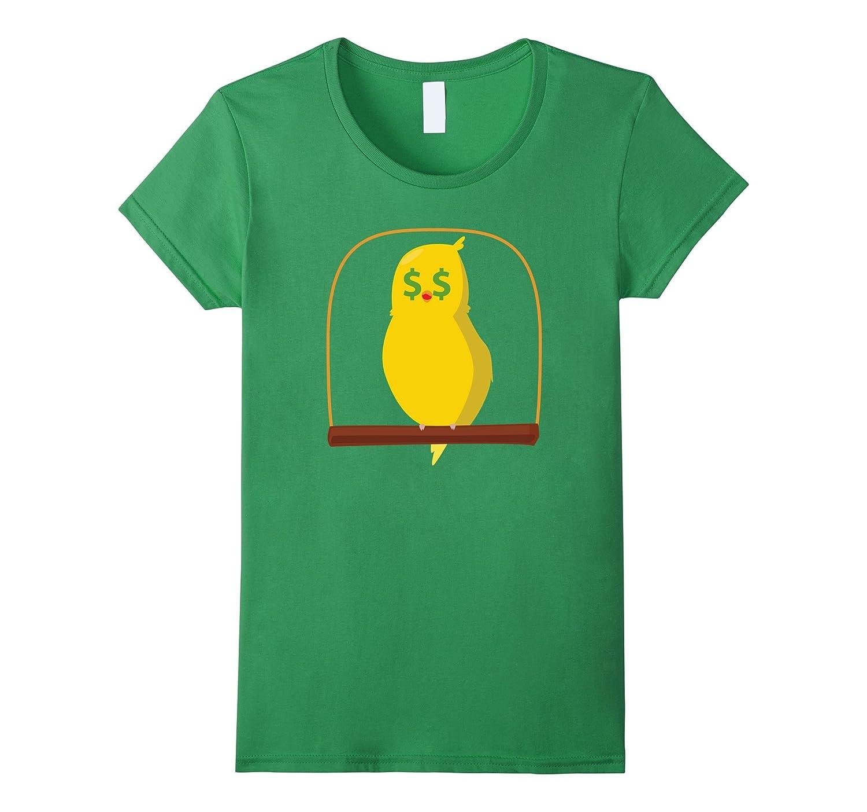 Bird Emoji Money Face Shirt T-Shirt Tee