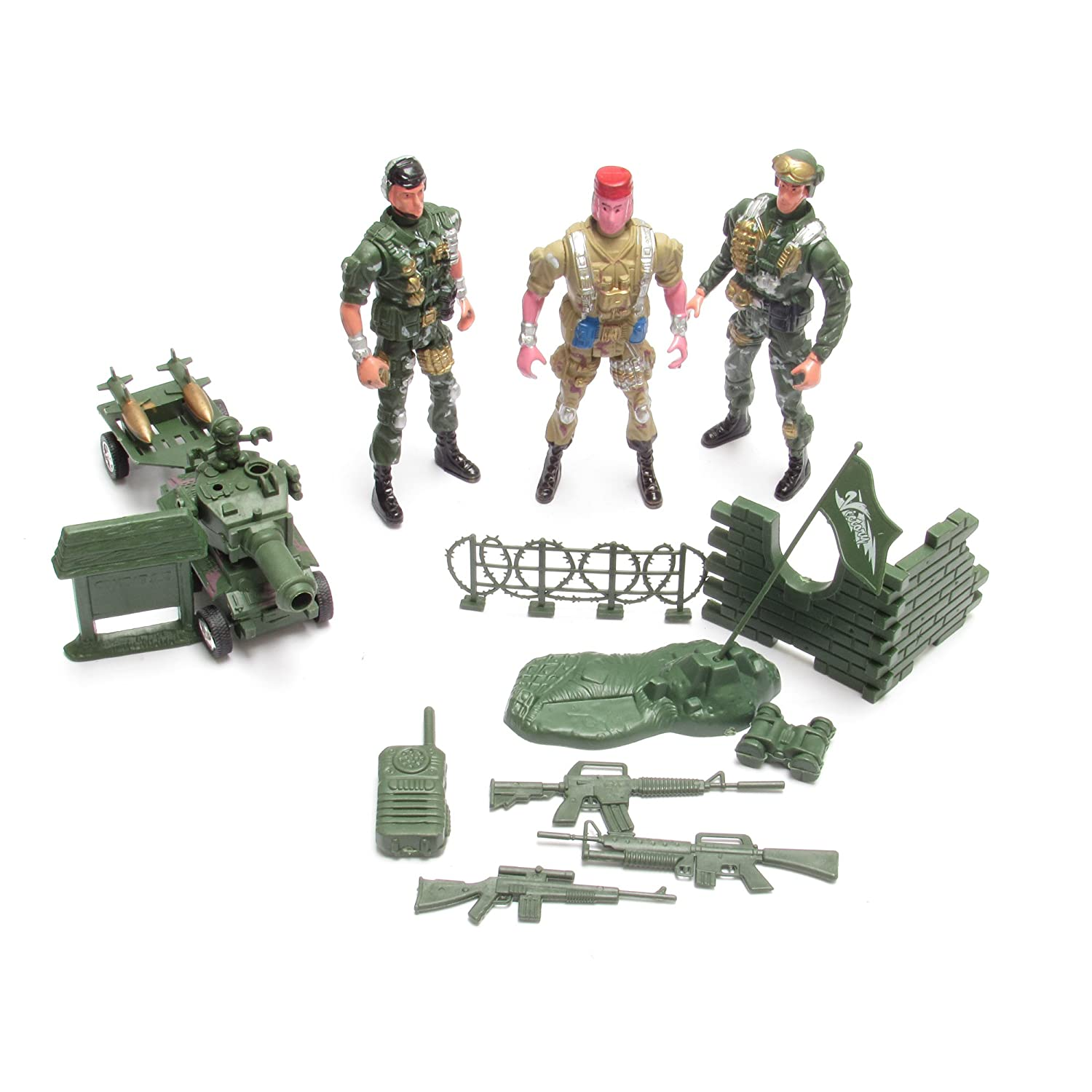 Toy Sol r Army Figures bat Fighter Set Action Man Tank