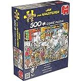 Jumbo Games Jan Van Haasteren Candy Factory Jigsaw Puzzle (500-Piece)