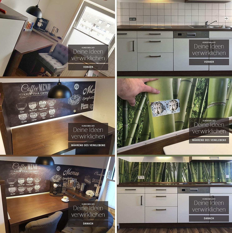StickerProfis StickerProfis StickerProfis Küchenrückwand selbstklebend - OLIVEN - 1.5mm, Versteift, alle Untergründe, Hart PVC, Premium 60 x 280cm B07MKDNKK9 Wandtattoos & Wandbilder 7f3221