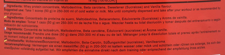 Beverly Nutrition 100% Deluxe Whey Professional Proteína Concentrada Sabor Vainilla y Crema - 2000 gr: Amazon.es: Salud y cuidado personal