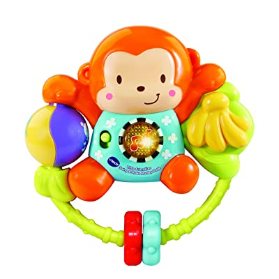 VTech Little Friendlies Swing & Shake Monkey Rattle: Toys & Games