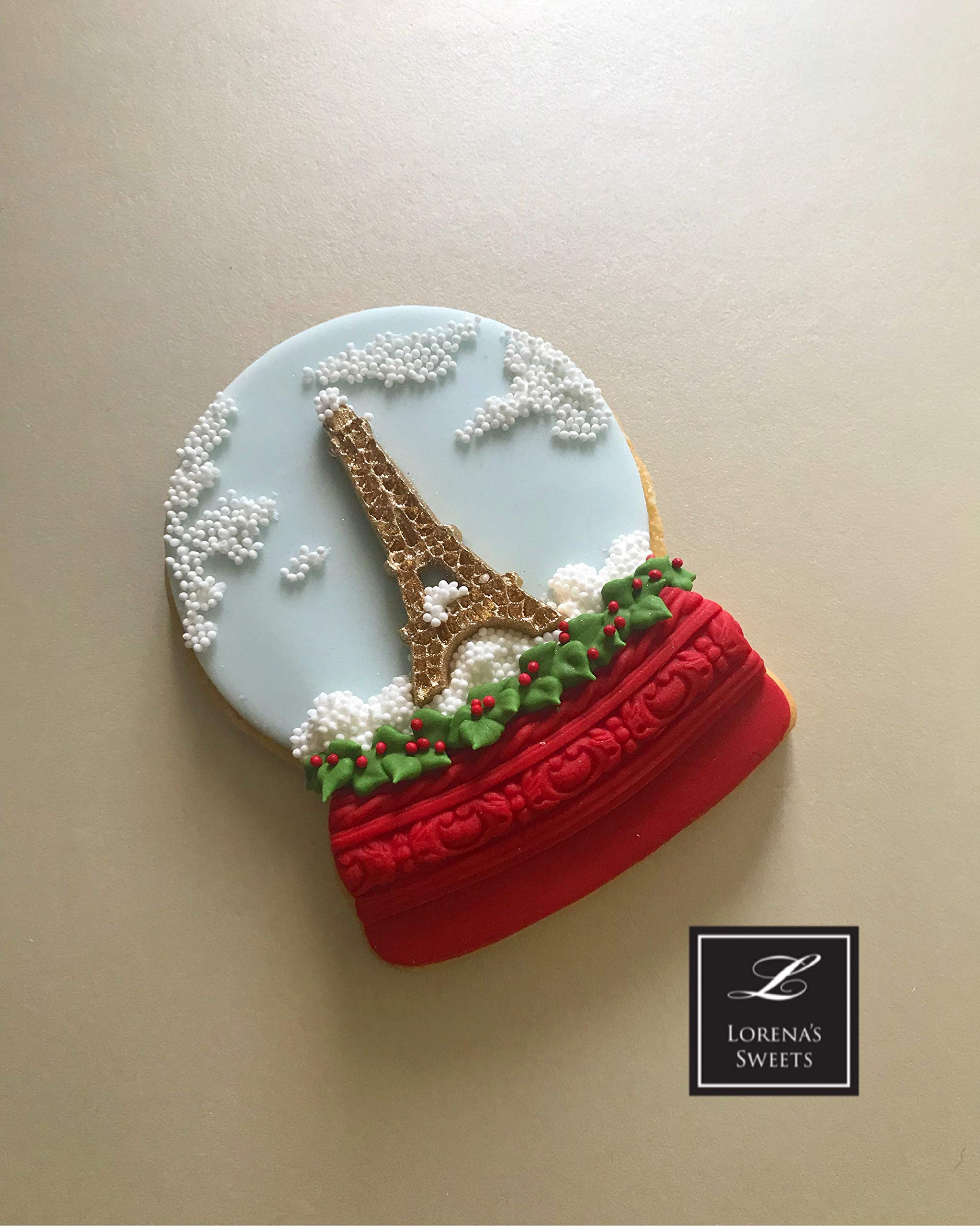 Lorena's Sweets Fondant cookie cutter kit Snow Globe by Lorena´s Sweets (Image #3)