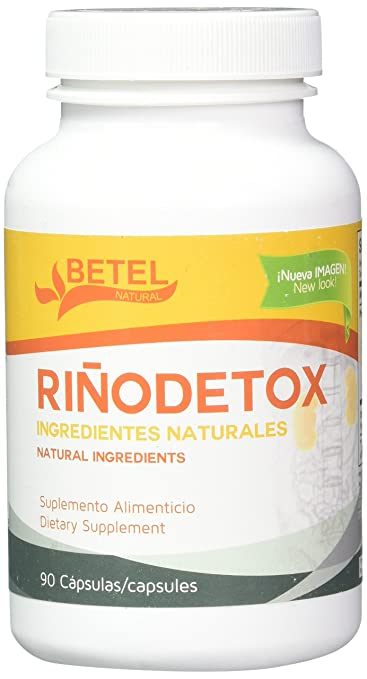 Rinodetox Capsules by Betel Natural - Natural Kidney Support - 90 Capsules