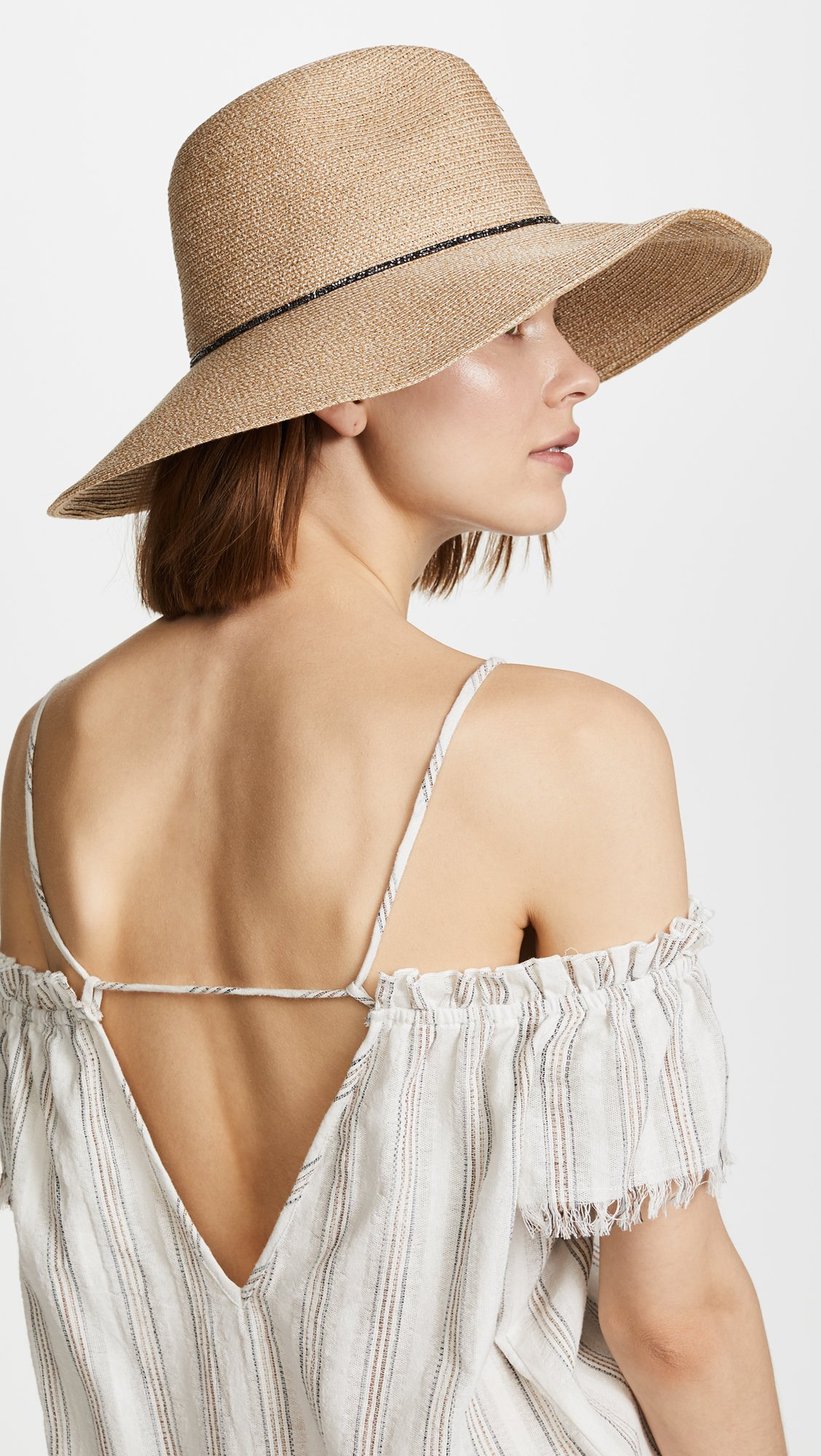 Eugenia Kim Women's Emmanuelle Beach Hat, Sand, One Size by Eugenia Kim (Image #3)