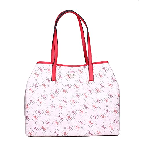 Vikky Large Tote Red Multi