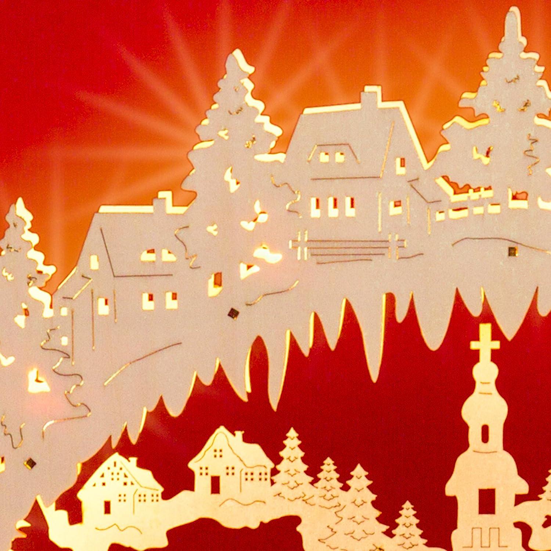 SIKORA LB38 beleuchteter XL LED Holz Schwibbogen SEIFFENER SEIFFENER SEIFFENER WEIHNACHTSMARKT 57cm inclusive Trafo B009ANWWHM Zierschmuck 598283