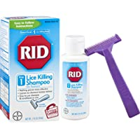RID Lice Killing Shampoo, Proven Effective Head Lice Treatment for Kids and Adults, Includes Nit Comb, Bottle, 2.0 Ounces