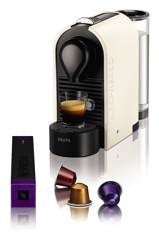 Nespresso U Machine Krups Nespresso U Xn 2501 Coffee Machine 19 Bar Pure Cream