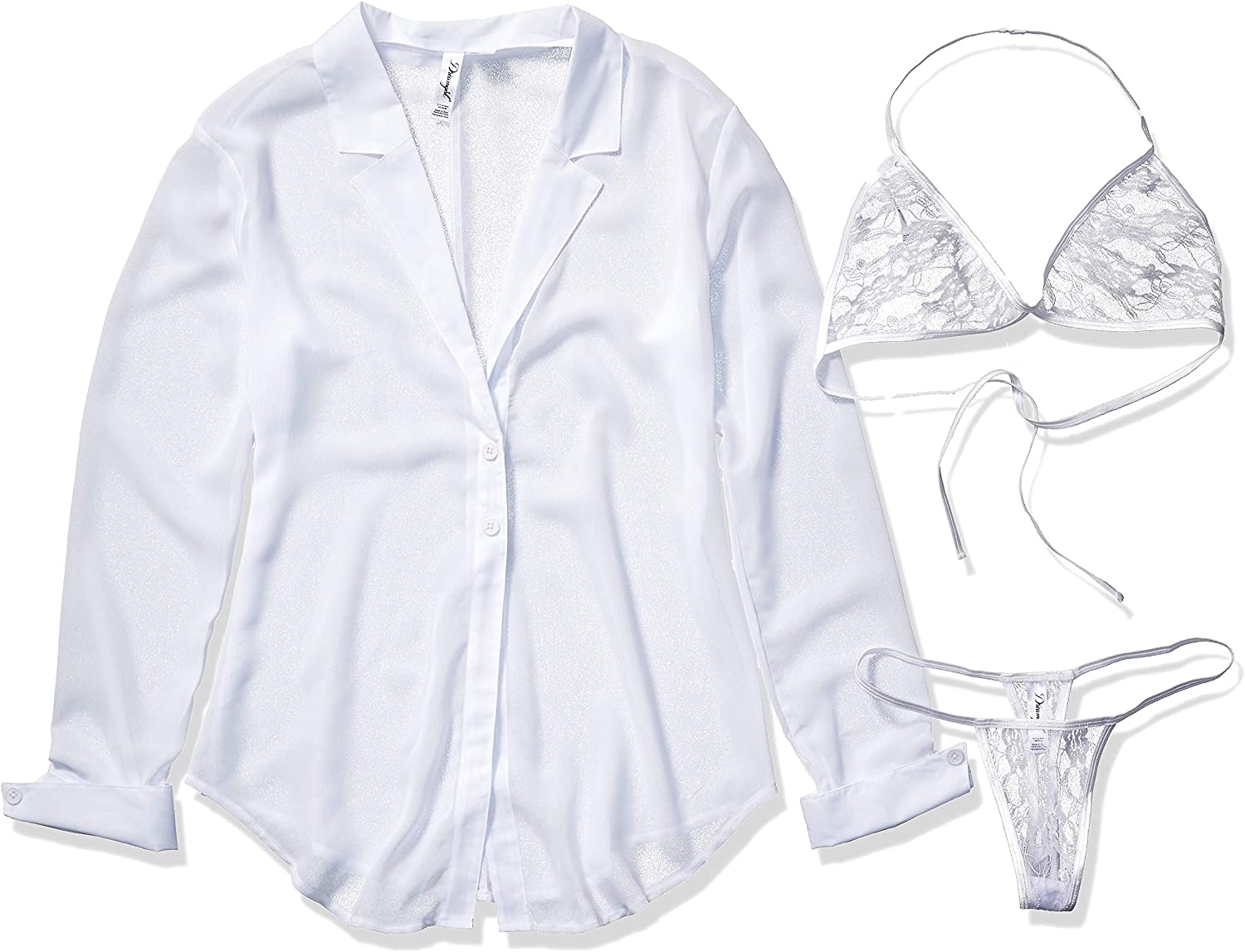 Dreamgirl Women's Office Affair: Adult Exotic Lingerie Sets: Clothing