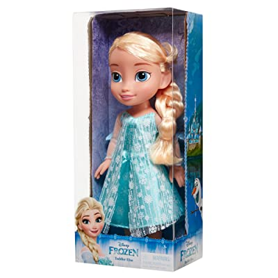 Disney 039897989211 Frozen Elsa Toddler Doll, Blue: Toys & Games