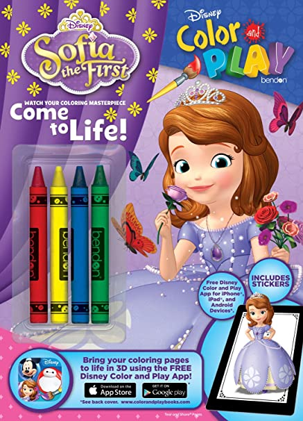 - Disney Princess Sofia The First Color And Play Come To Life In 3D Coloring  Book Bendon Drawing & Painting Supplies Drawing & Painting Supplies Arts &  Crafts Drawing & Painting Supplies