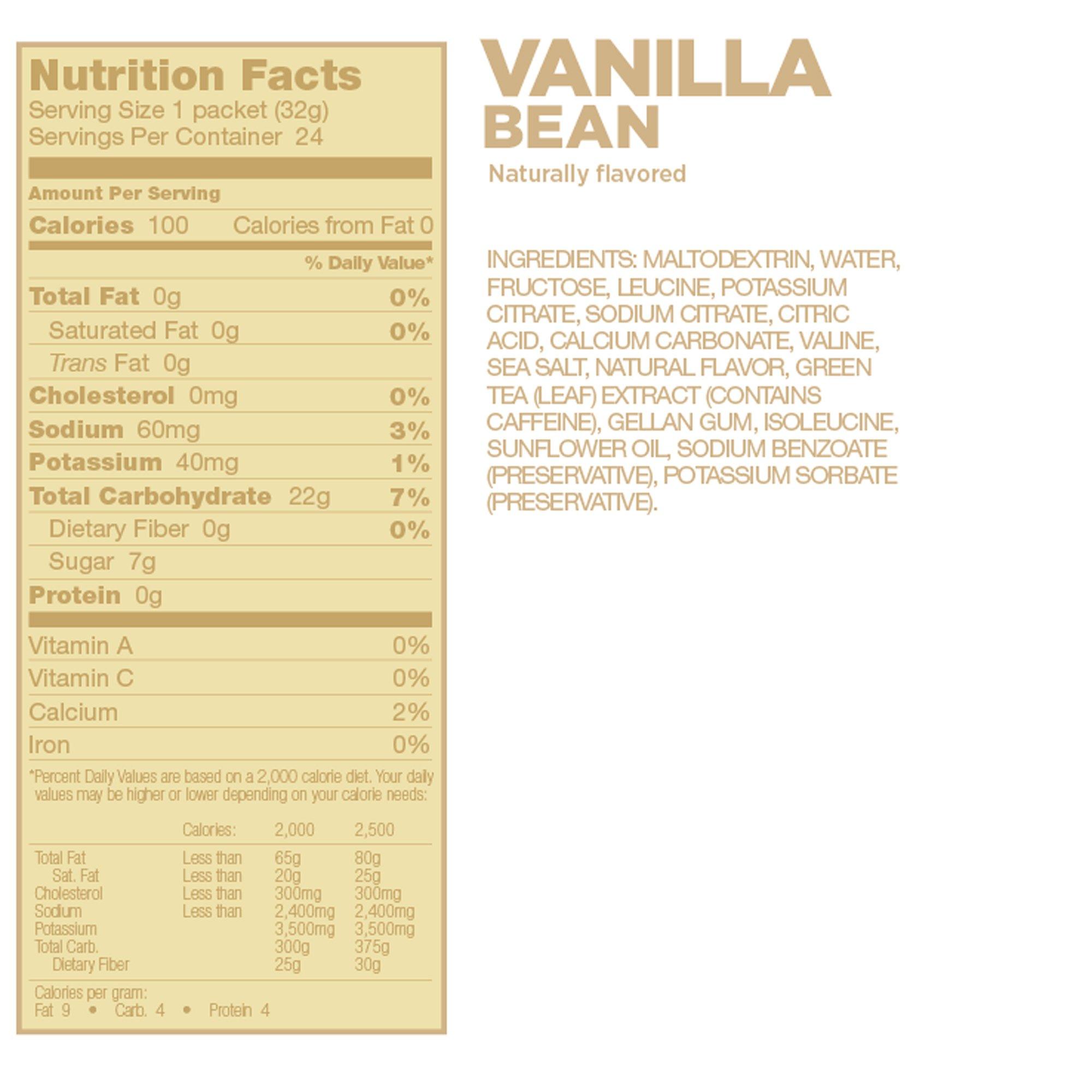 Resultado de imagen para gu gel vanilla bean