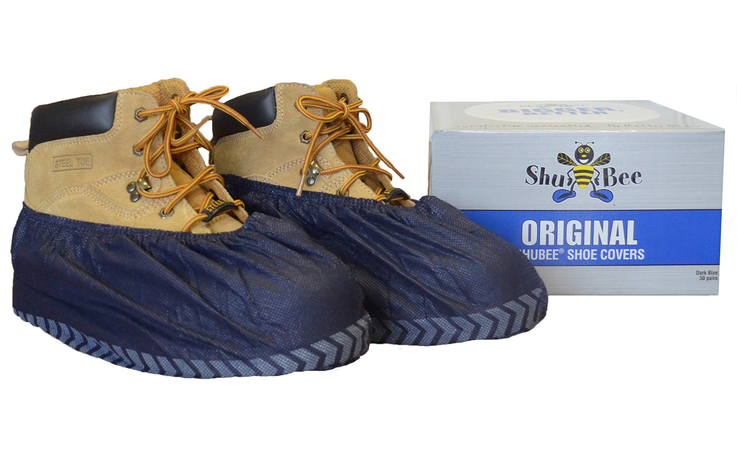 ShuBee Original Shoe Covers, Dark Blue (50 Pair) by ShuBee