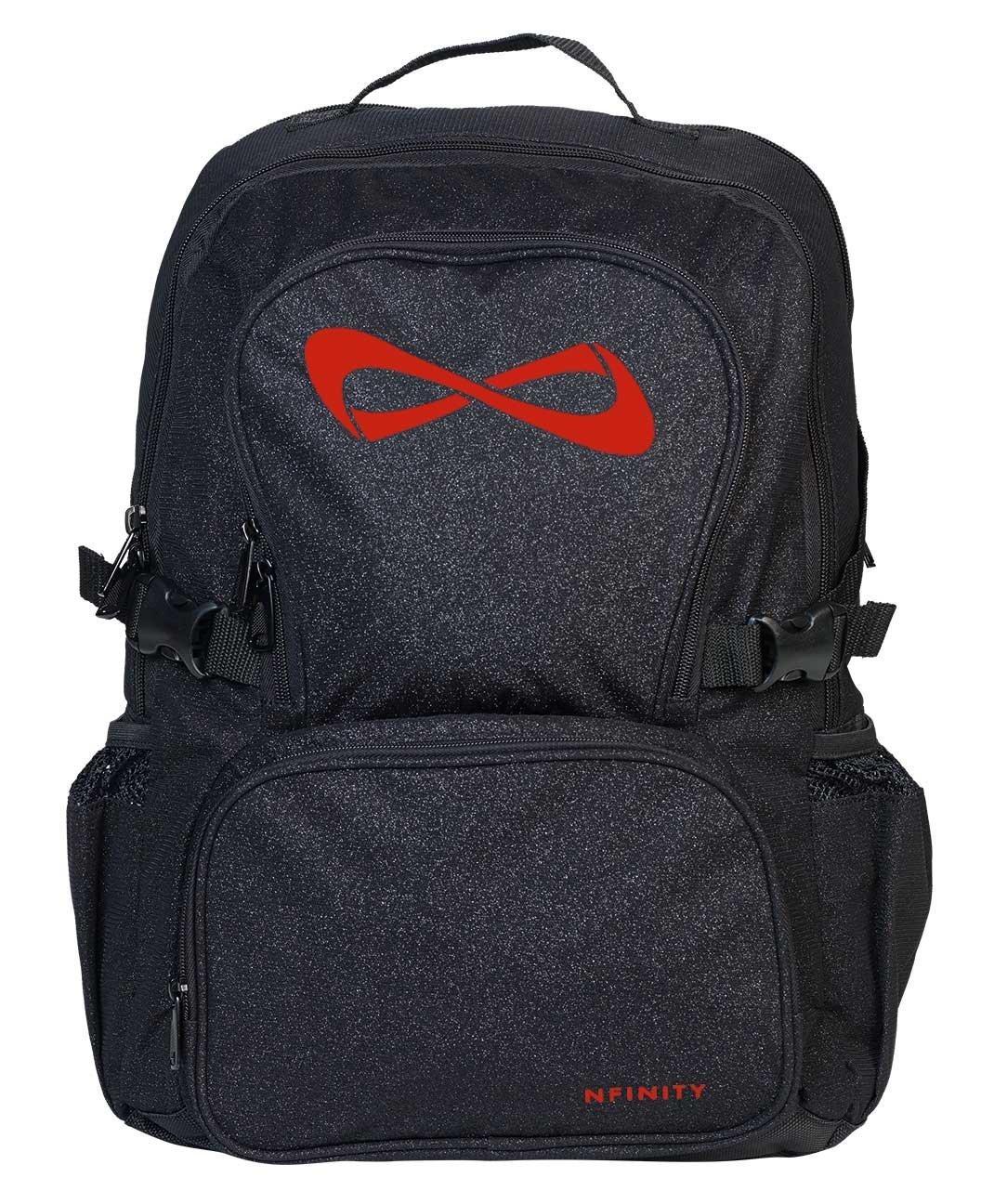 Nfinity Sac à dos Sparkle Black/Red Eric McCrite Company NF-9008-8102
